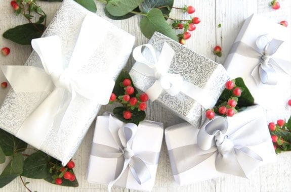 Christmas party venue gifts