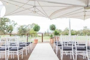 Wedding-Ceremony-Package-On-Deck-With-White-Carpet