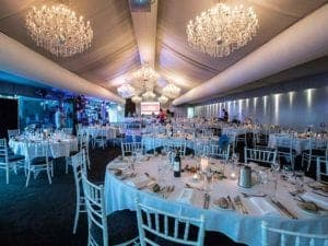 function gala in marquee room