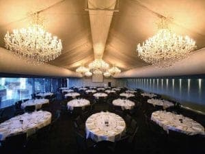 marquee corporate function overhead