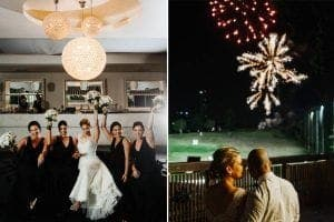wedding venue photography fireworks