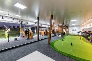 Golf Lesson Learning Centre Opening