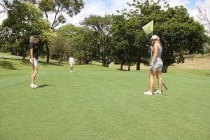 womens golf game