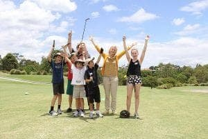 Junior Golf Lessons at Victoria Park