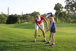 Junior Golfers Brisbane at Victoria Park