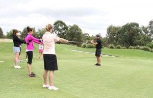 womens golf lesson