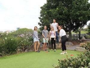 putt putt group game